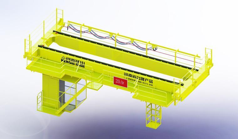QD型16/3.2噸吊鉤橋式雙梁起重機 河南礦山起重機 4