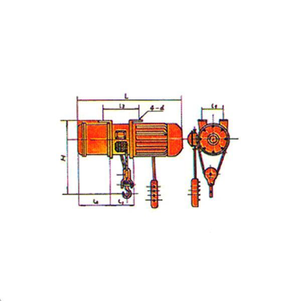固定式电动葫芦 2T电动葫芦 河南矿山 3