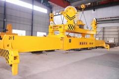 水运港口吊车用集装箱吊具 河南矿山起重机械生产厂家