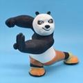Factory direct Resin the Kung Fu panda's character image cartoon action figures