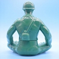 Factory direct  resin stately soldier character image  action figure toy