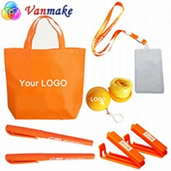 Custom Company Logo Branding Advertising Printed Classical Promotional Gifts Set