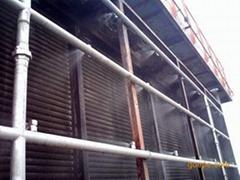 電廠空預器蓄熱元件乾冰清洗