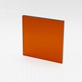 Factory hottest OD4+ View Protection Laser Safety Window Sheet 3