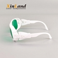 New Lightweight CE Certificate Laser Safety Goggles Protective Glasses 4