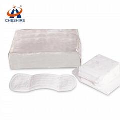 Cheshire hygienic sanitary napkin/diapers using hot melt glue