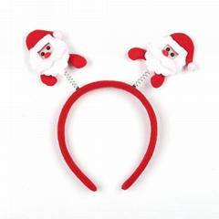 Fancy Christmas Santa Claus Headband