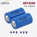 锂亚电池 ER14250电池 水表电表专用电池 2