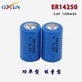 锂亚电池 ER14250电池 水表电表专用电池 4