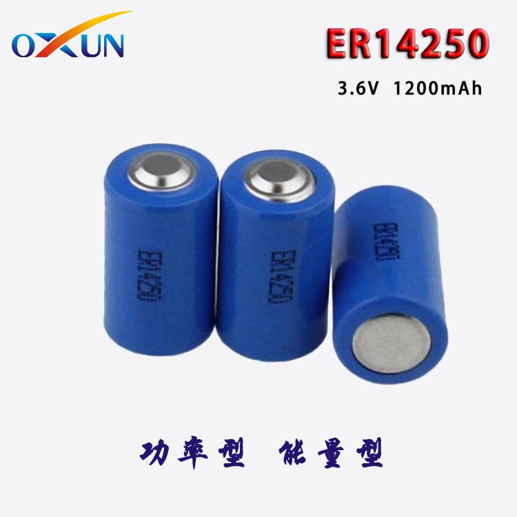 锂亚电池 ER14250电池 水表电表专用电池 5
