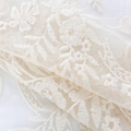 net guipure lace cotton border embroidery fabric