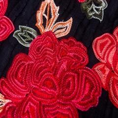 chinese red rose velvet