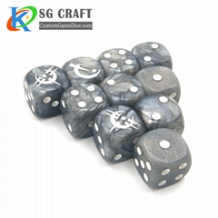 wooden polyhedral bulk dice wholesale