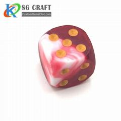 Multi-Color Custom Game Polyhedral Dice