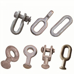 Electric power link fittings ball clevis,socket-clevis eye