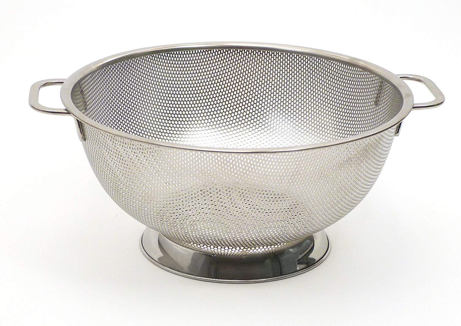 Stainless Steel Punched Hole Precision Pierced Colander 1