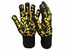 Short Cuff Heat Resistant Safety Gloves