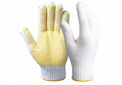 String Knit Safety Work Gloves