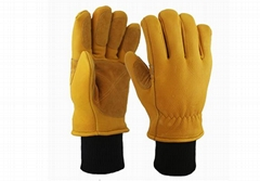 Buckskin Safety Work Gloves