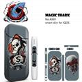 MAGCISHARK Adhesive Sticker skin custom design for IQOS ecigs 2