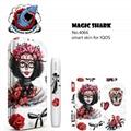 MAGCISHARK Adhesive Sticker skin custom design for IQOS ecigs 4
