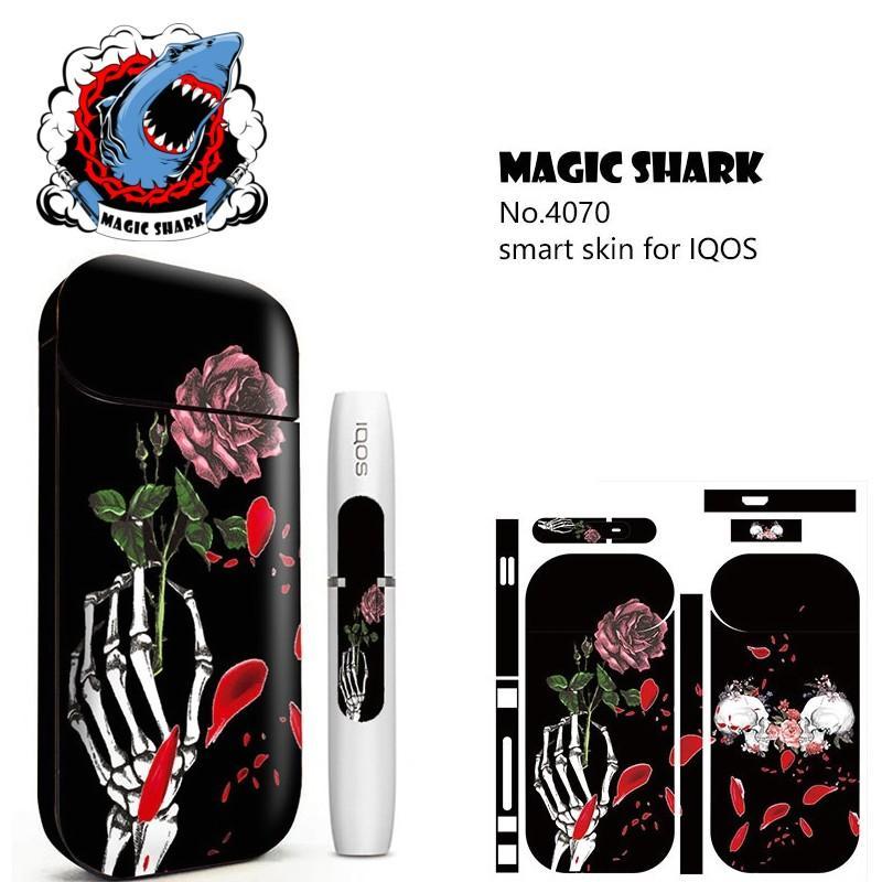 MAGCISHARK Adhesive Sticker skin custom design for IQOS ecigs 5