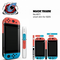 MAGCISHARK Adhesive Sticker skin custom design for IQOS ecigs