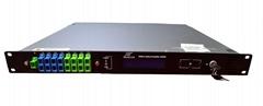 Built-in WDM 8Ports EDFA High Power Optical Amplifier