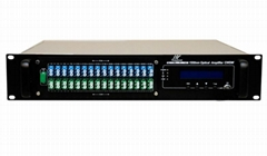 16ports EDFA High Power Optical Fiber Amplifier with WDM