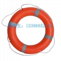 水上娛樂救生圈成人儿童游泳圈2.5kg游船遊艇實心泡沫塑料腋下圈 1