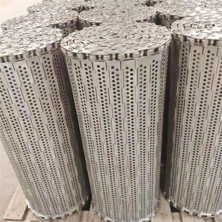 杭州厂家直销耐高温食品烘干不锈钢链板输送带 3