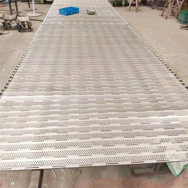 杭州厂家直销耐高温食品烘干不锈钢链板输送带 4