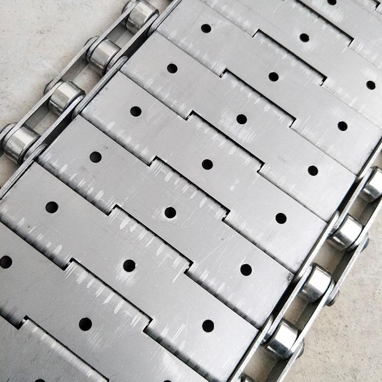 杭州厂家直销耐高温食品烘干不锈钢链板输送带 5