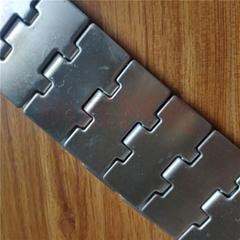 厂家现货供应直行转弯不锈钢链板