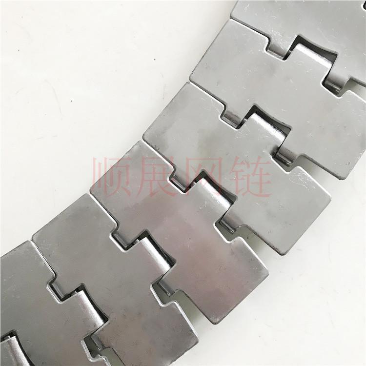 厂家现货供应直行转弯不锈钢链板 2