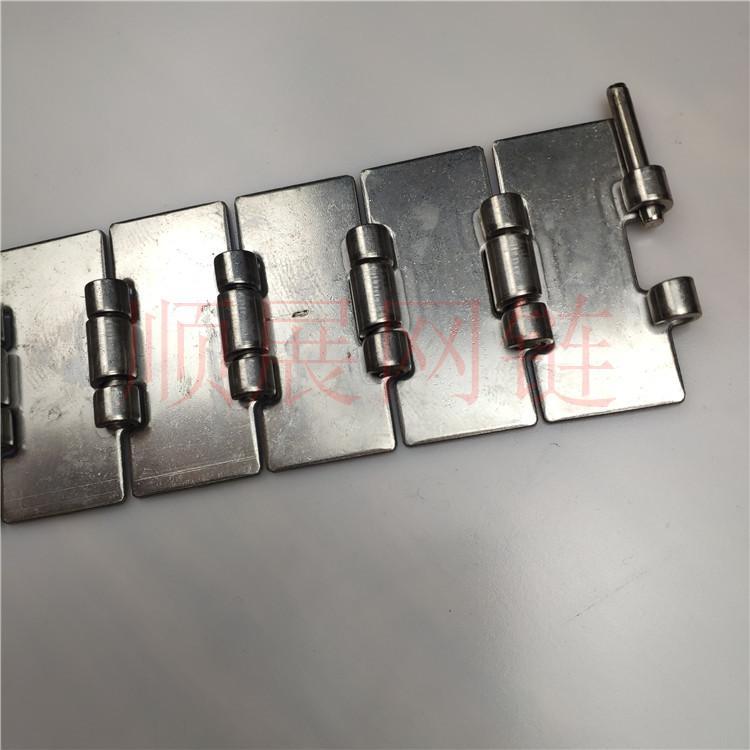 厂家现货供应直行转弯不锈钢链板 5