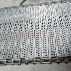 廠家直銷海產品不鏽鋼鏈板耐腐蝕鏈板輸送帶