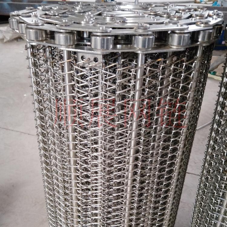 厂家供应果蔬烘干冷却线不锈钢网带 2