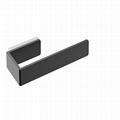 Custom Square Polished Chrome Towel Ring
