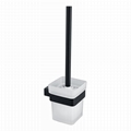 Hot Sale Home Wall Black Toilet Brush