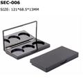black eyeshadow palette case empty