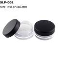 empty loose compact powder case plastic powder jar  1