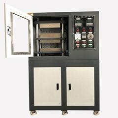 卓胜橡胶硫化机 热压机 真空平板压片机