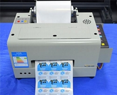 Roll Digital Color Waterproof Barcode Label Printer Machine