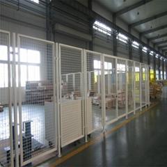 鐵絲網圍欄-便捷移動DH211型車間隔離網