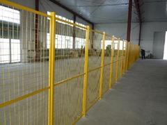 倉庫隔離專用DH211型深圳鐵絲網圍欄