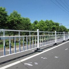 鋅鋼材料DH218型城市道路護欄