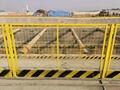 使用中的DH216型深圳基坑護欄