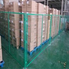 深圳鐵絲網圍欄防護設施車間隔離網