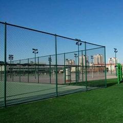 球場防護專用DH214型深圳鐵絲網圍欄